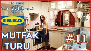 IKEA MUTFAK TURU 11. BÖLÜM - 11 m2 KÜÇÜK MUTFAK - İç Mimar Sisters