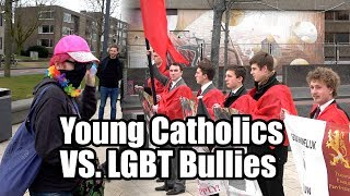 Young Catholics vs LGBT Bullies in the Netherlands
