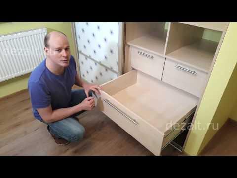 Наполнение шкафов купе в детскую фото