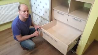 видео шкаф в детскую комнату