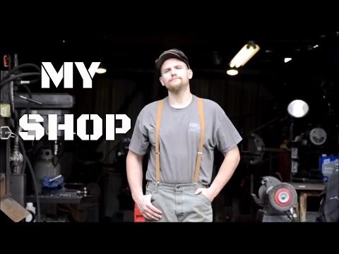 Blacksmith Shop Tour 2017 at Christ Centered Ironworks
