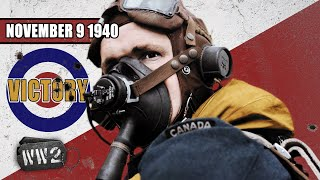 Britain's First Victory, Germany Plunders Europe & Mussolini's Folly - WW2 - 063 - November 9, 1940