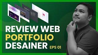 Review Web Portfolio Desainer - Eps1