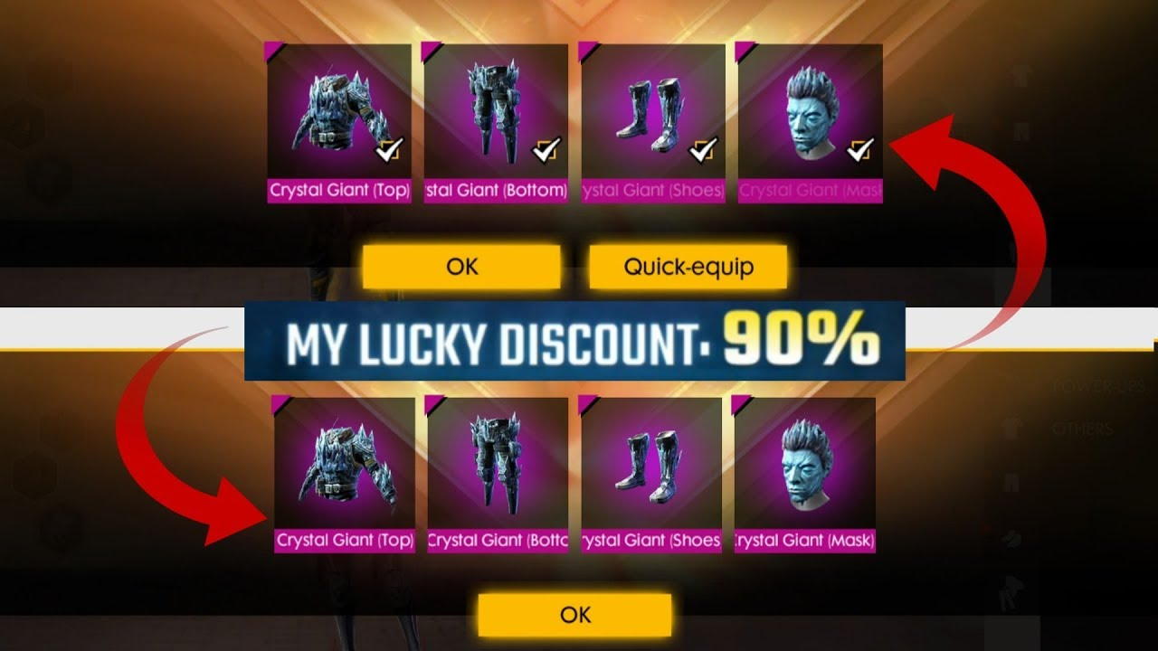 Free Fire Purchasing Mystery Shop 90% Discount Trick in 2