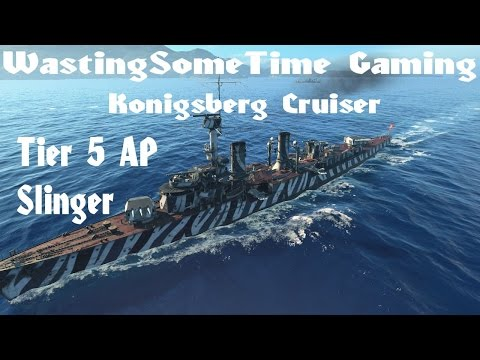 Konigsberg German Cruiser: World of Warships