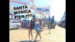 SANTA MONICA PIER??!!! | VLOG 14