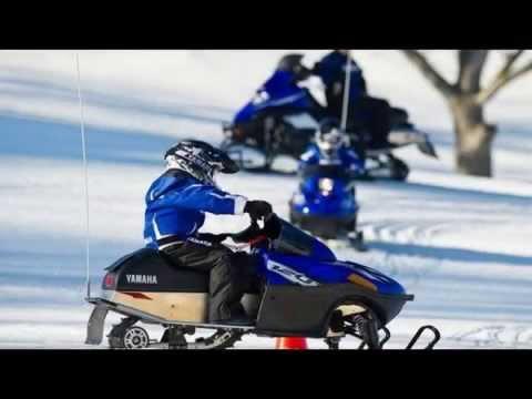 Детский снегоход Yamaha SRX 120
