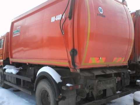 Мусоровоз КО-440-7   (2013 г.)   шасси КАМАЗ-43253 (4х2)  Евро-3
