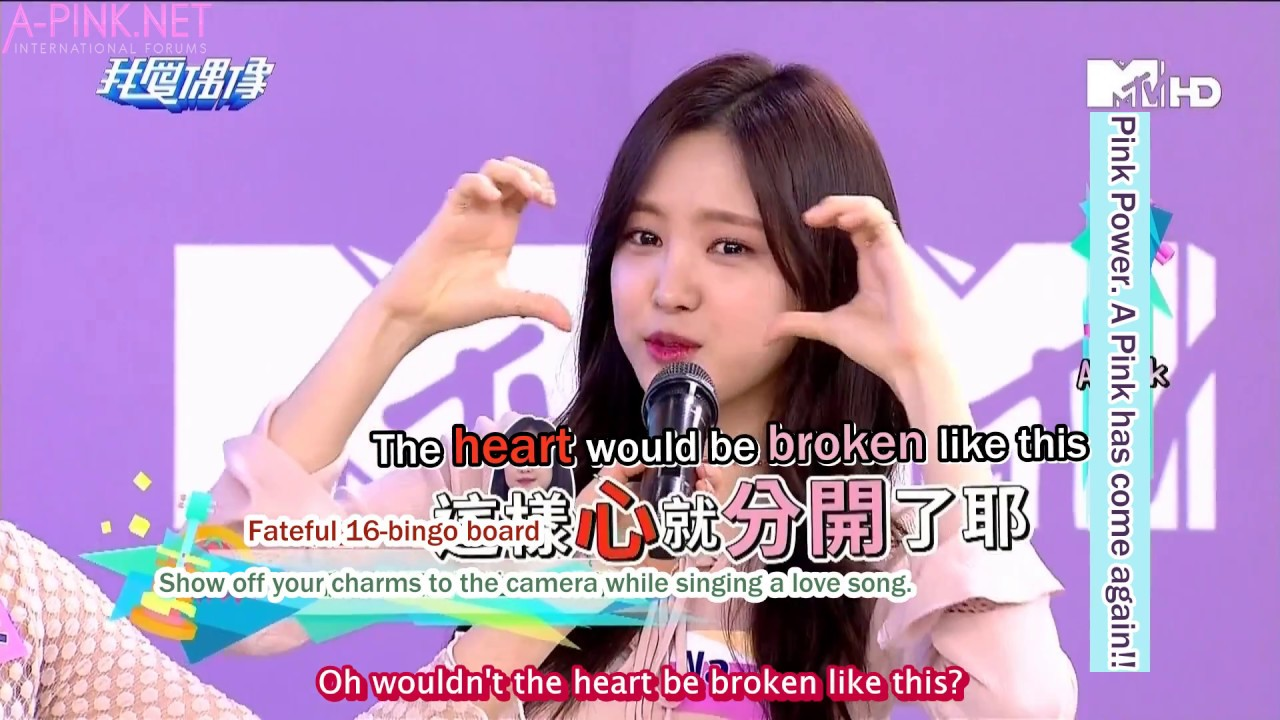 [APINKSUBS][170104] MTV Idols Of Asia - A Pink Cut