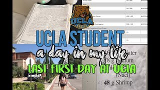 Follow me around: UCLA Student l LAST FIRST DAY AT UCLA: Lab,Writing Papers, Showing my Final Grades