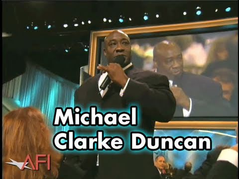 Michael Clarke Duncan Thanks Tom Hanks