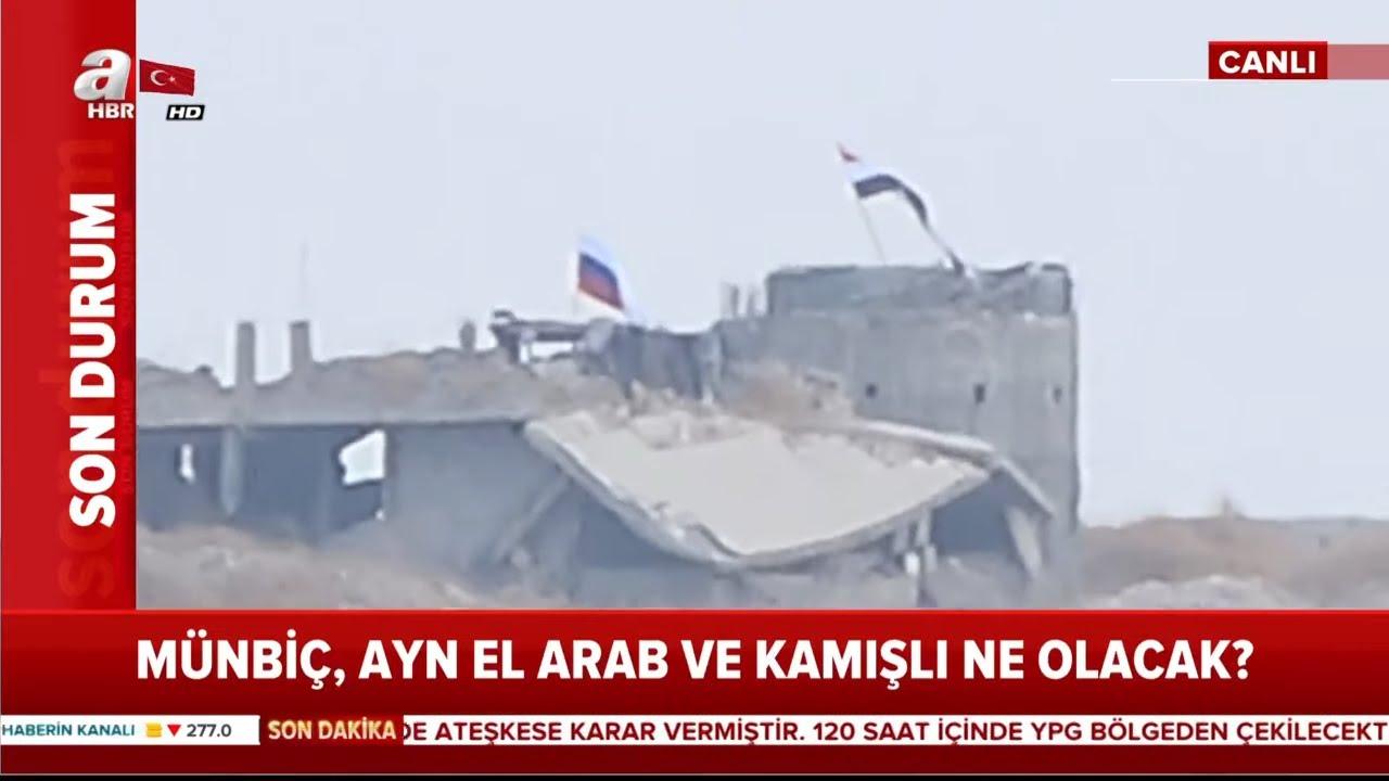 YPG'nin Çekilmesi İçin Kritik 120 Saat! / Son Durum / A Haber