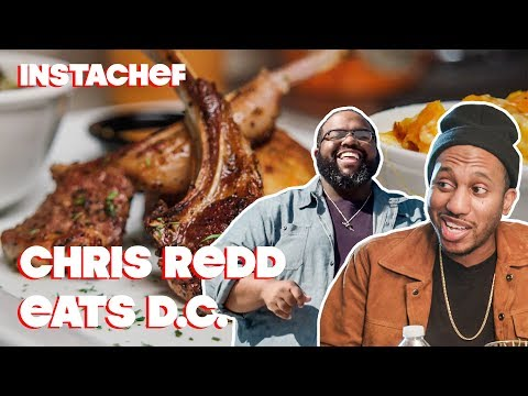 SNL's Chris Redd Hits Up Washington, D.C.'s Underground Food Scene | 202DC