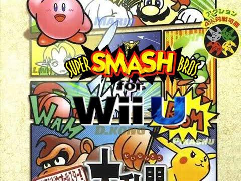 Download SUPER SMASH BROS. for WiiU -Retro Intro ( N64)