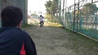 小2ピッチャー すごい速球! ストレート伸びてます!(2013 5月 徳島りけい)