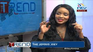 #theTrend: Joey Muthengi on her comeback to radio, marriage and the false dating rumours