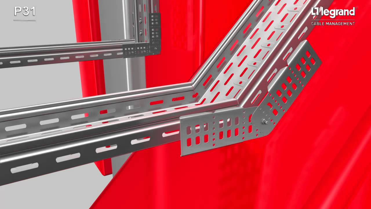 P31 Cable Tray System Legrand Cable Management Youtube