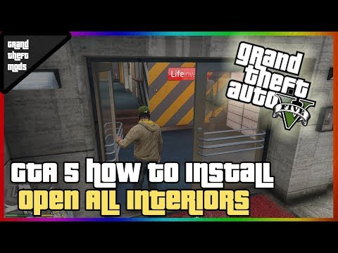 How to Install Open All Interiors in gta 5 - Myhiton
