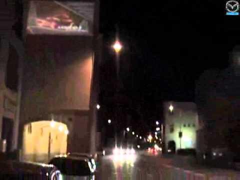 "Mazda ""Zeichen setzen"" - Streetbrandings & Projektionen by Boomerang Media"