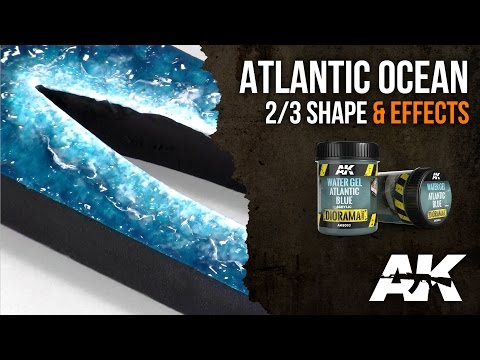 How to: AK8003 || ATLANTIC BLUE, PART 2/3: Shape & Effects