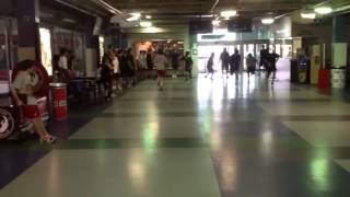 Chris Cloutier 300 yard shuttle run