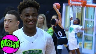 BRONNY IS BACK - DON'T TEST THE YOUNG KING - Blue Chips Close Victory