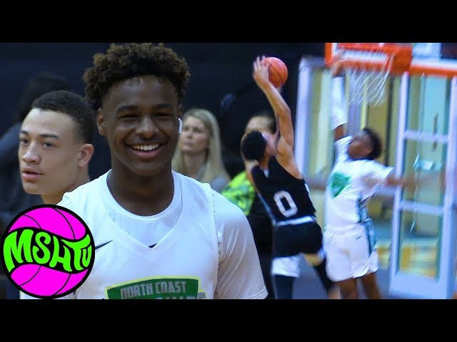 BRONNY IS BACK - DONT TEST THE YOUNG KING - Blue Chips Close Victory