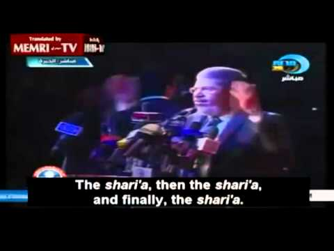 "Mohammed Morsi ""Lovely"" Islamic speech"