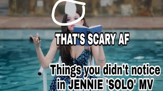 (BlackPink Crack) THINGS YOU DIDN'T NOTICE IN JENNIE 'SOLO' MV