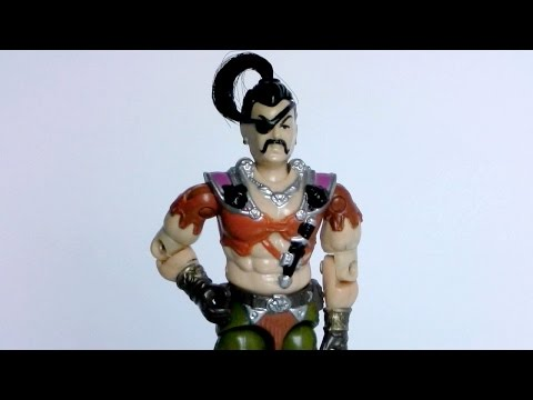 1987 Zanzibar (Dreadnok Pirate) & Air Skiff G.I. Joe review