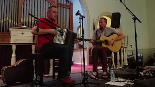 Mick McAuley and John Doyle at New World Festival