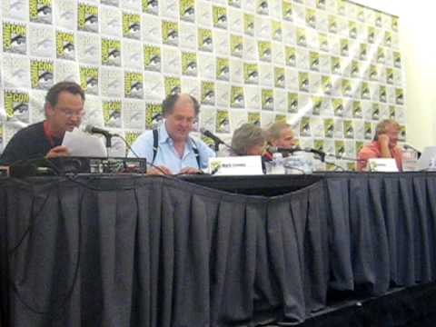 """""""Rocky and Bullwinkle go to Comic Con"""" Part 1 - June Foray panel"""
