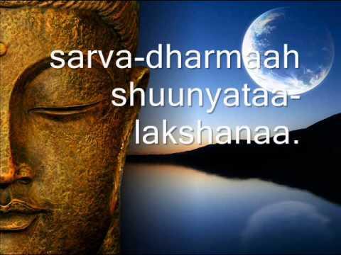 Buddhist Chant - Heart Sutra in Sanskrit