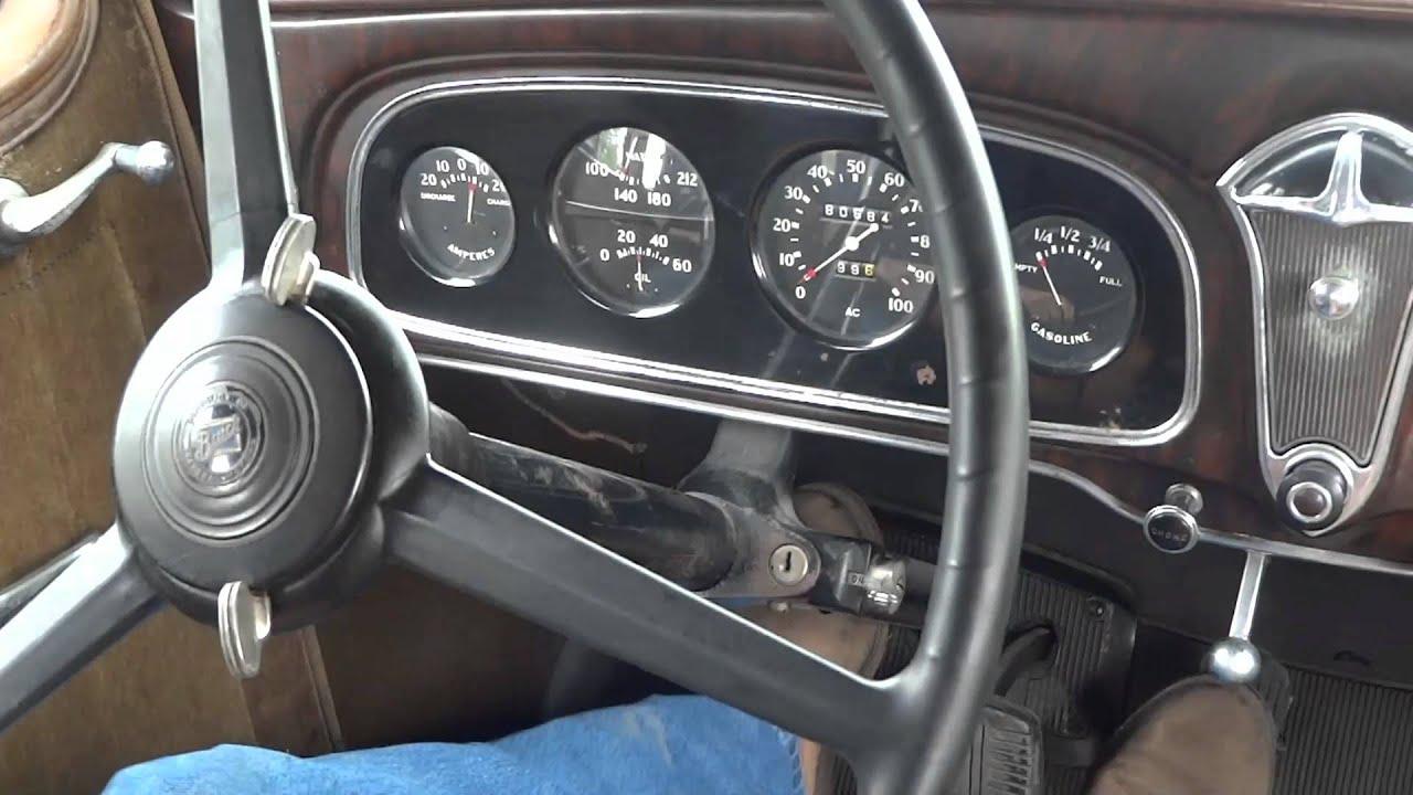 1933 Buick Sedan Street Rod All Steel, Vintage Air | Lot F56 ...