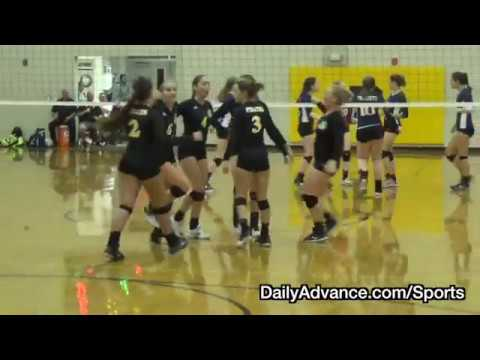 The Daily Advance | Volleyball | NCHSAA 1A state playoff 2nd round | Franklin Academy at Perquimans