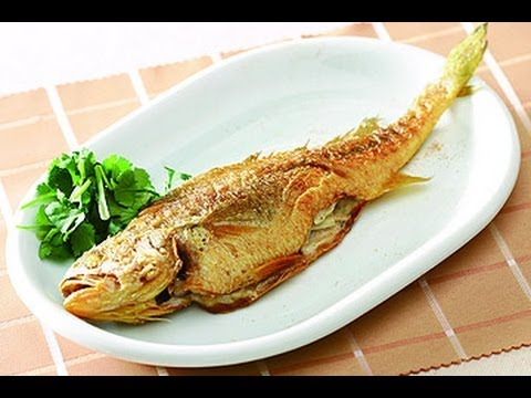 【楊桃美食網】煎魚不破皮-乾煎黃魚