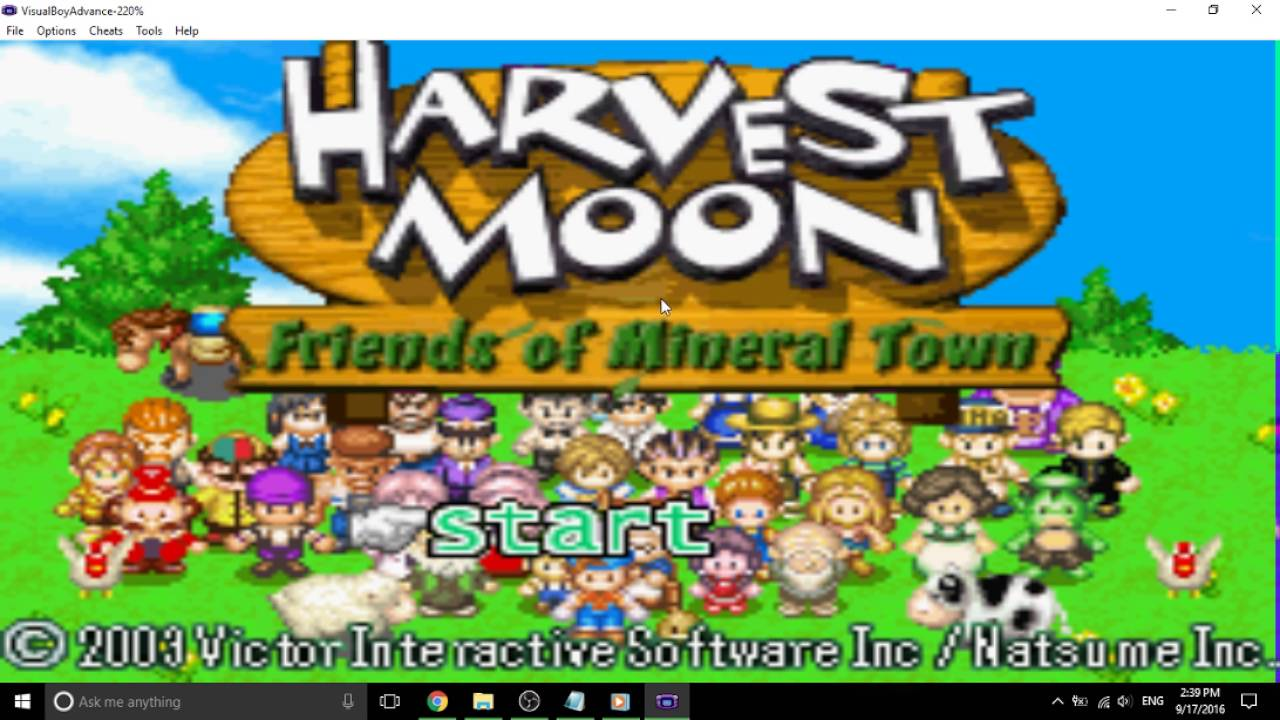 Harvest moon: friends of mineral town download game | gamefabrique.