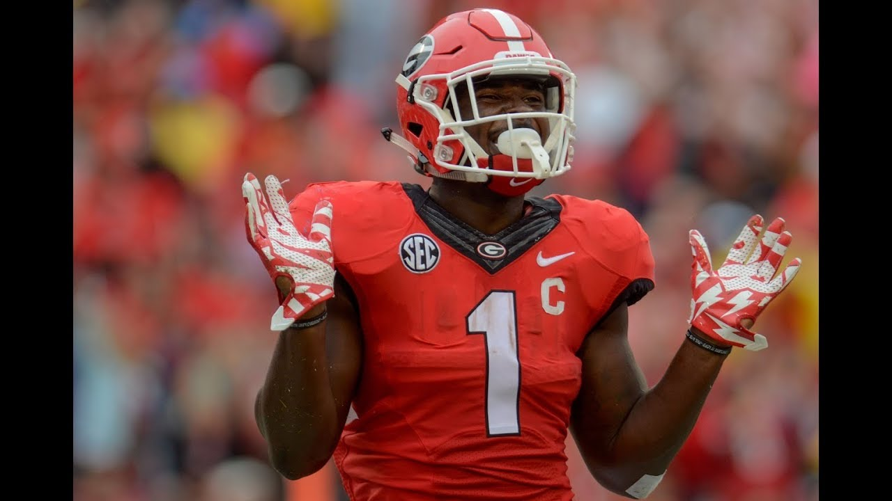 huge discount 2ebe6 6eb72 Sony Michel vs Tennessee 2017