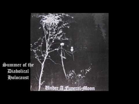 Darkthrone- Under A Funeral Moon 1993 (FULL ALBUM) (VINYL RIP)