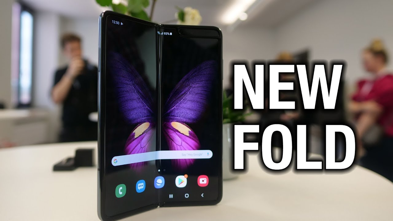 Meet The NEW Samsung Galaxy Fold!