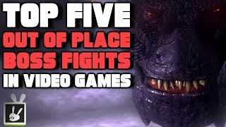 Top Five Out of Place Boss Fights in Video Games - rabbidluigi