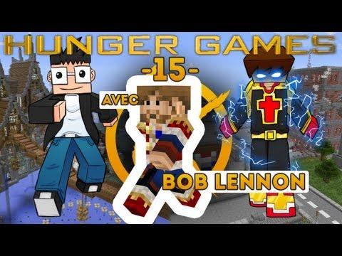 HUNGER GAMES : Minecraft - Ep. 15 : Un peu de PU-PU-PU-PUISSANCE dans ta face ( Avec Bob Lennon )