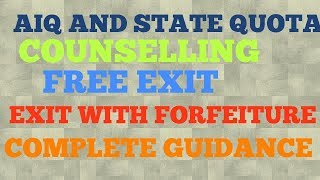 Neet counselling full guide (AIQ and State Quota)