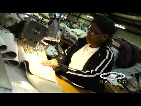 Hurricane Deck Boats Construction — Upholstery