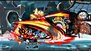 MapleStory - Testing Tempest Blade on Hell Gollux - 5th job