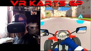 VR Karts GP on Android Virtual Reality Headset