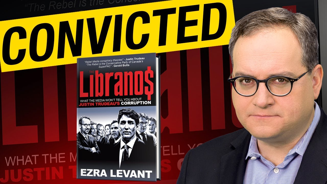 Elections Canada fines Ezra Levant $3,000 for book comparing Trudeau to Tony Soprano