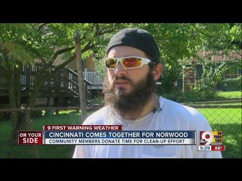 Cincinnati Comes Together For Norwood