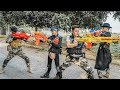 Nerf Guns War : S.W.A.T Men Of TTNerf Team Special Warn Attack Squad Boss XX Criminal Dangerous