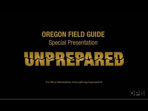 "A Cascadia Subduction Zone MegaThrust Earthquake Documentary Titled: ""Unprepared""."
